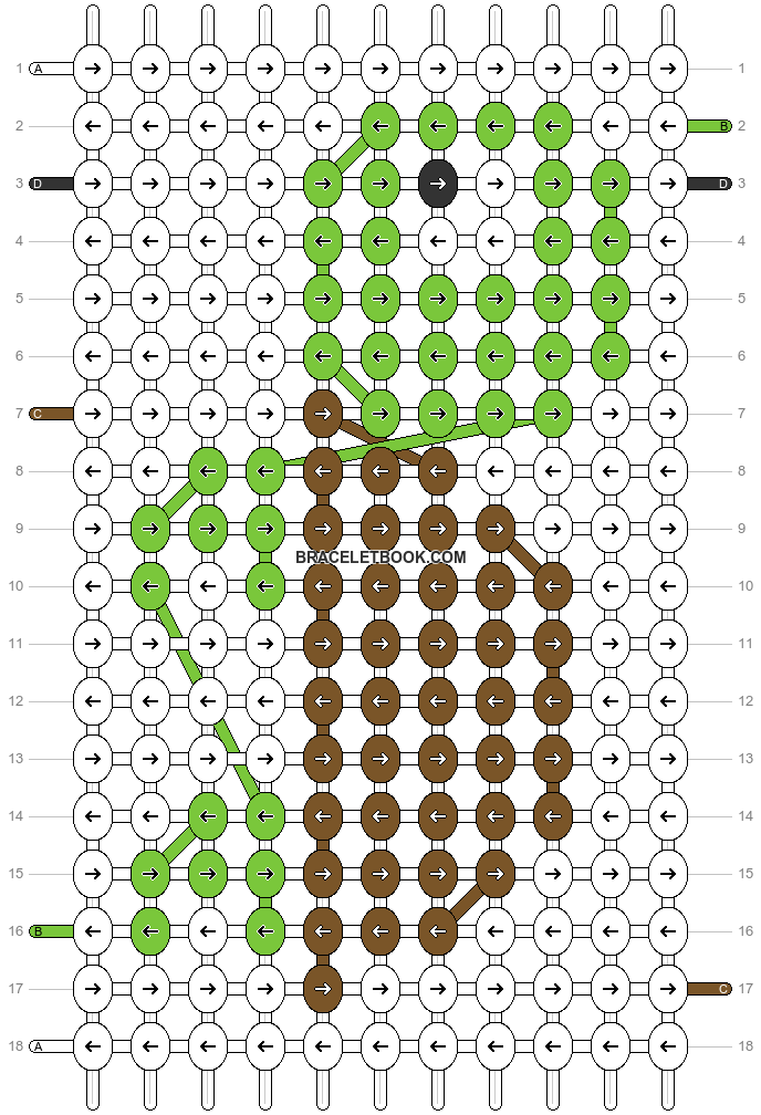Alpha pattern #26282 pattern