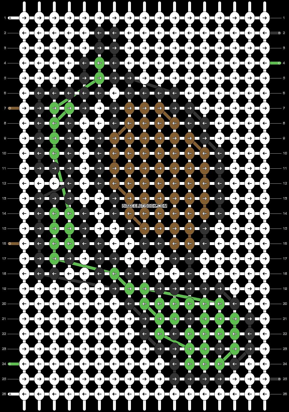 Alpha pattern #26284 pattern
