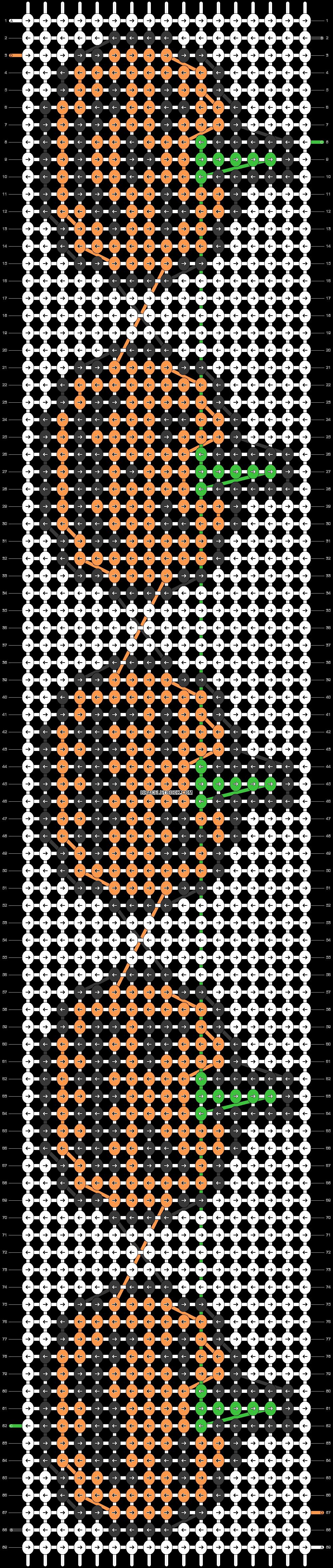 Alpha pattern #26285 pattern