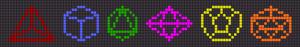 Alpha pattern #26300