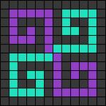 Alpha pattern #26334