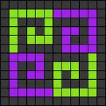 Alpha pattern #26341