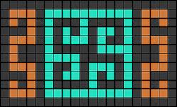 Alpha pattern #26364