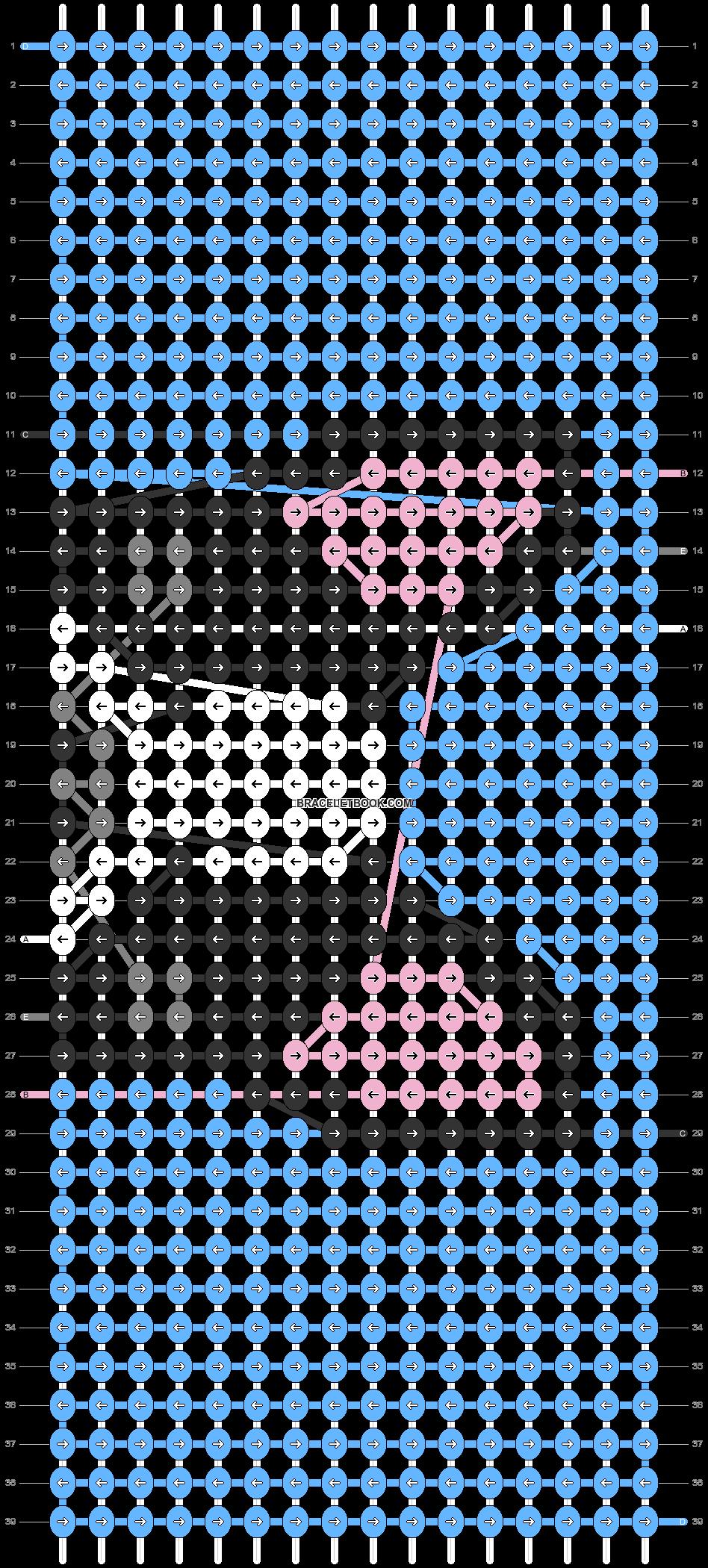 Alpha pattern #26380 pattern