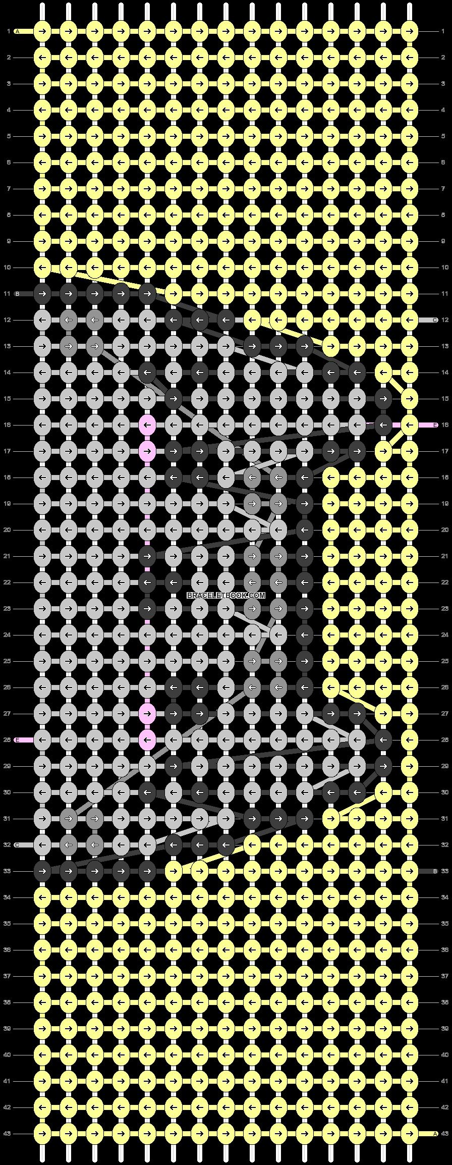 Alpha pattern #26406 pattern
