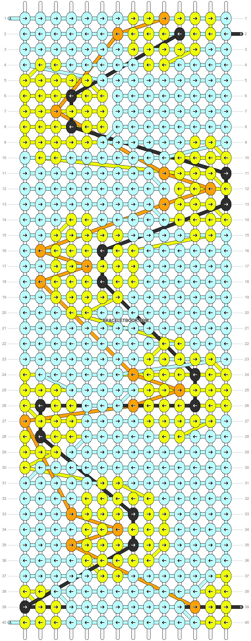 Alpha pattern #26407 pattern