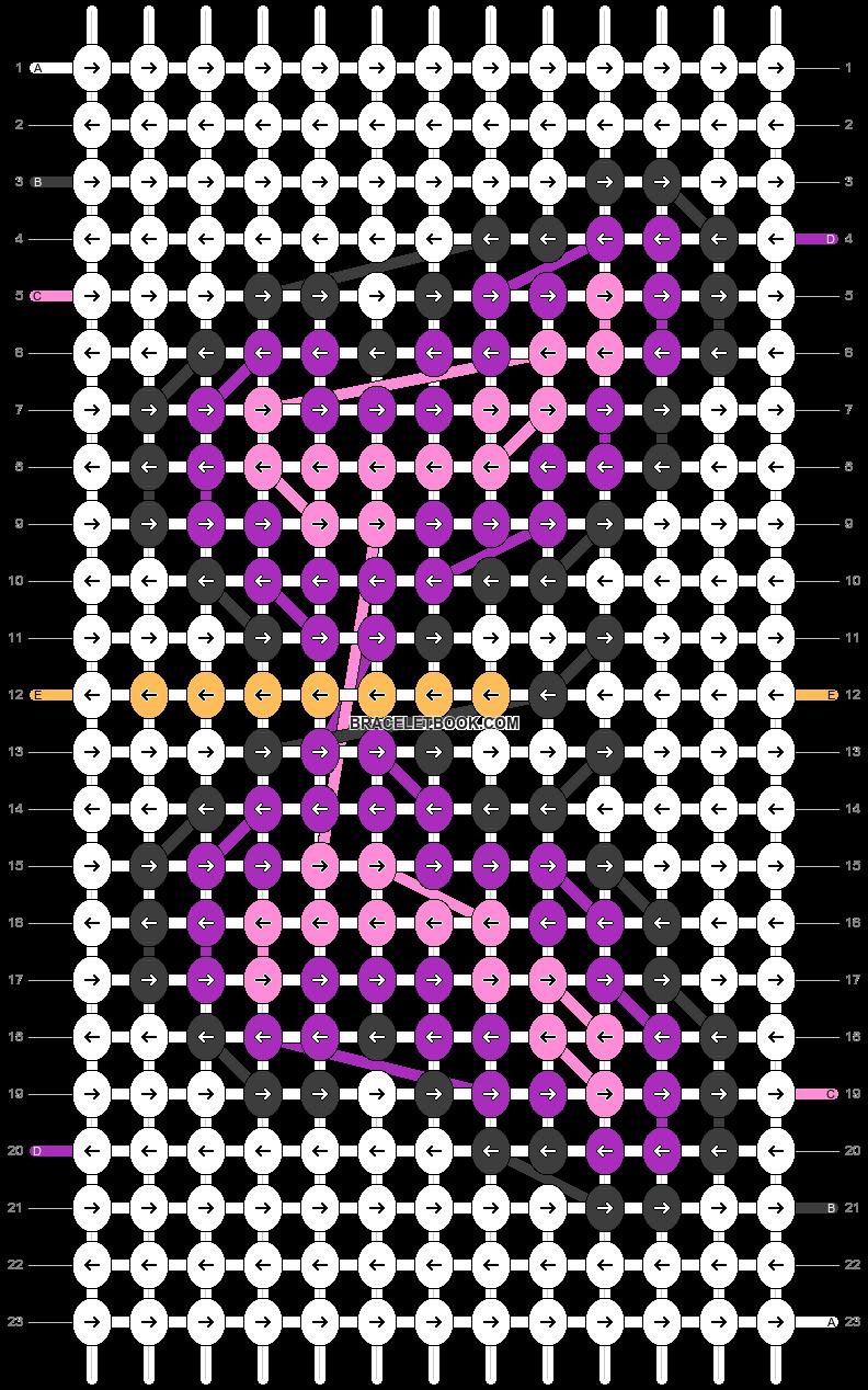 Alpha pattern #26410 pattern