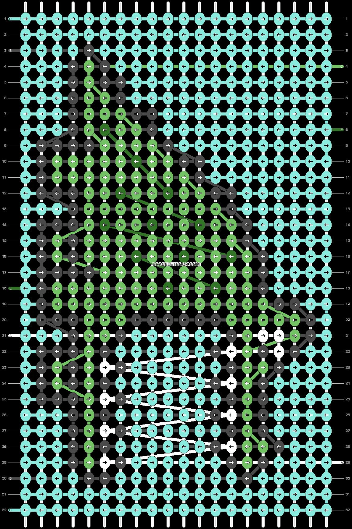 Alpha pattern #26411 pattern