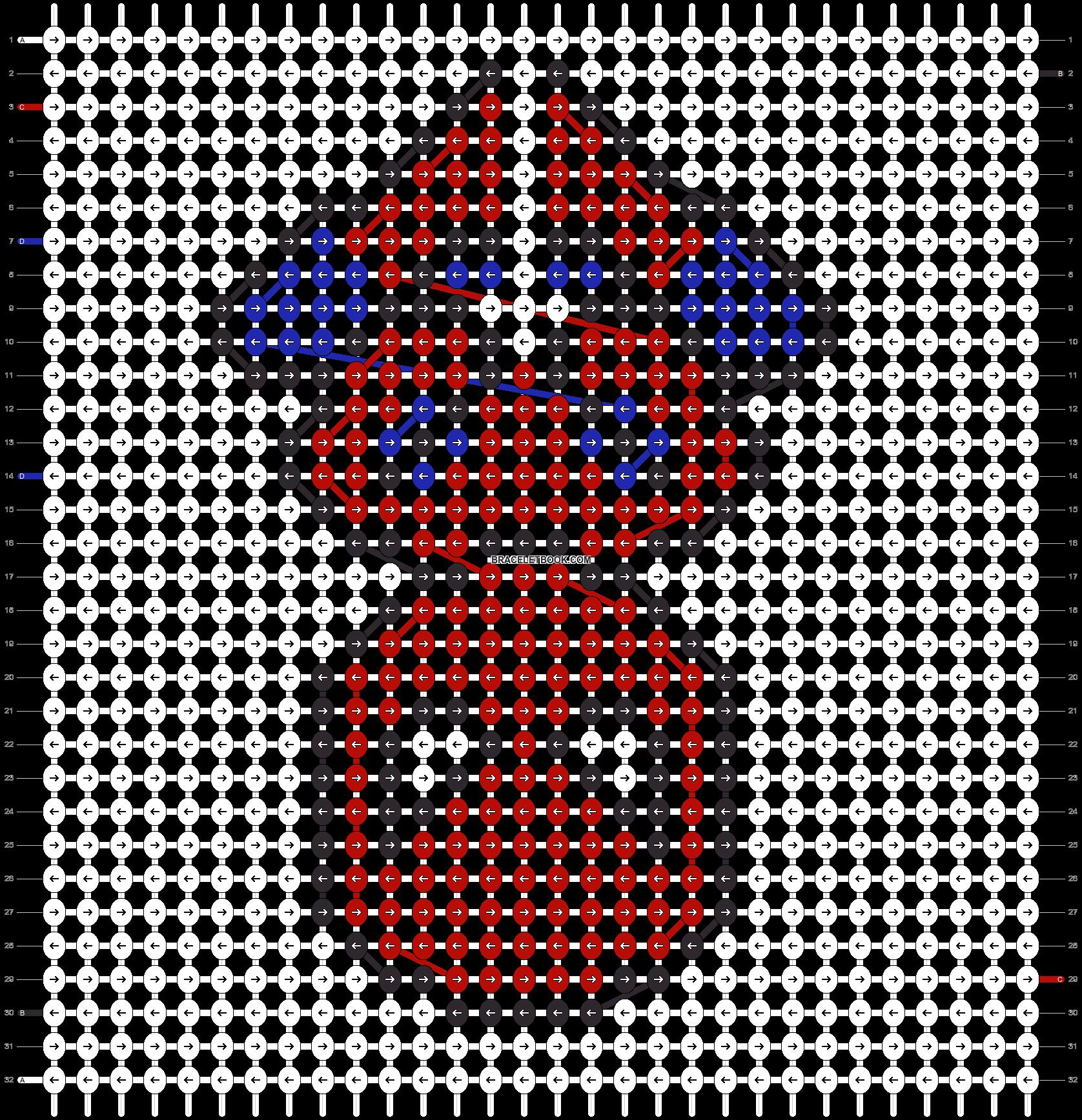 Alpha pattern #26413 pattern