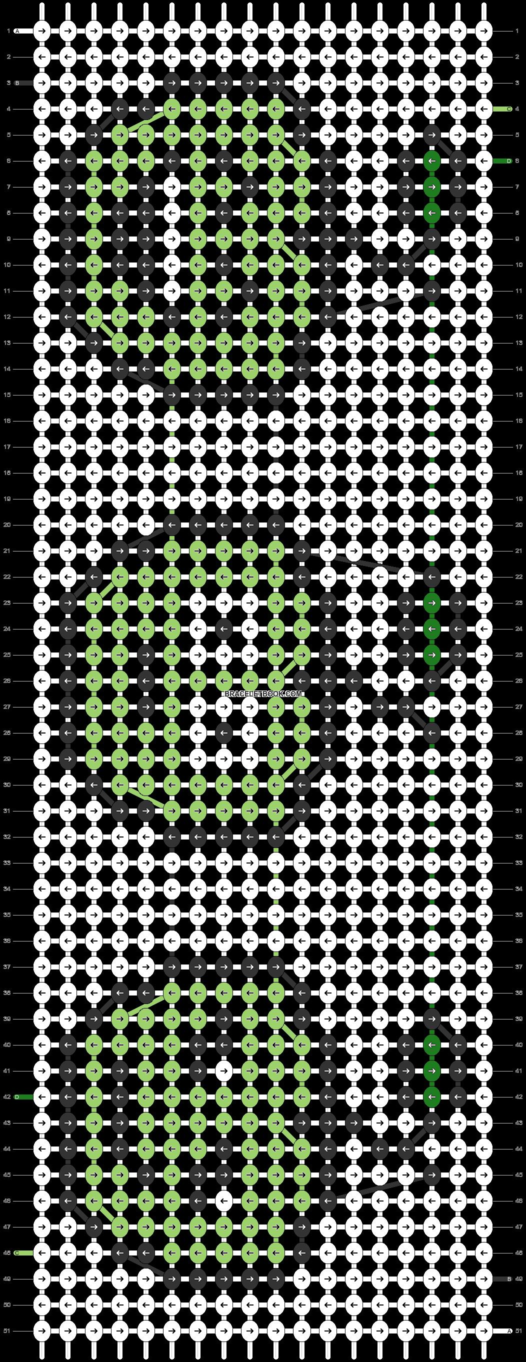 Alpha pattern #26454 pattern
