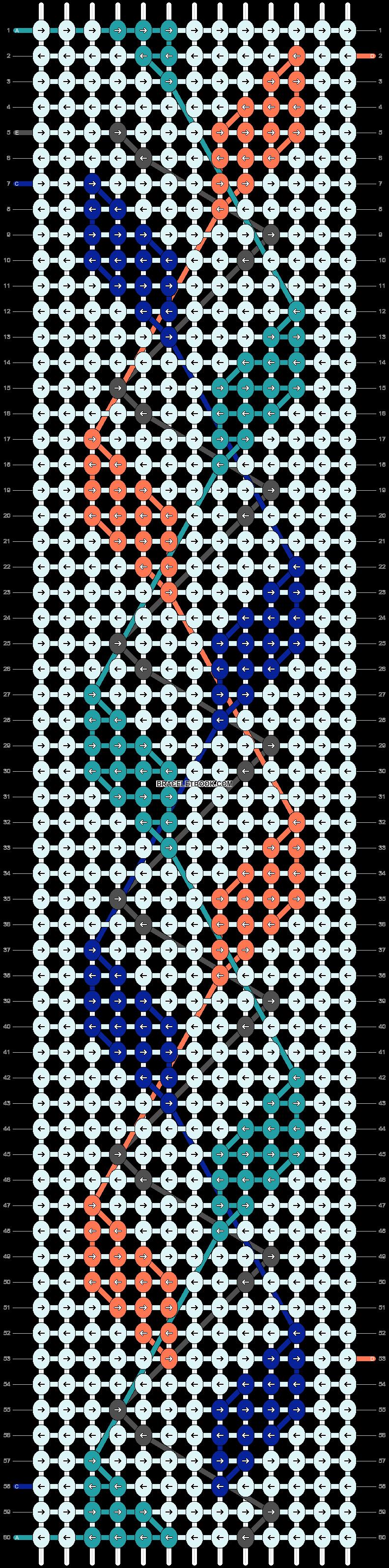 Alpha pattern #26480 pattern