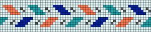Alpha pattern #26480