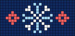 Alpha pattern #26484