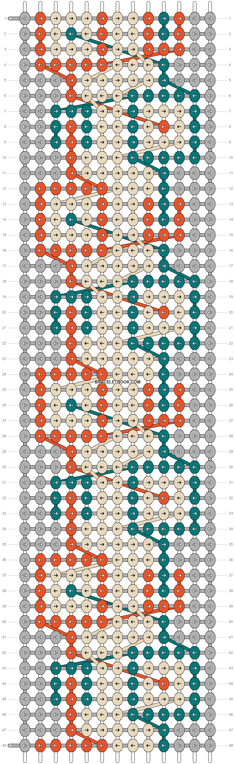 Alpha pattern #26486 pattern