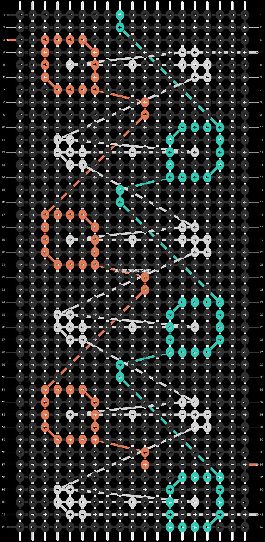 Alpha pattern #26487 pattern