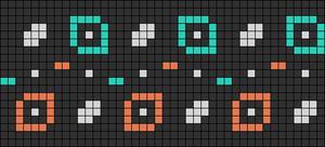 Alpha pattern #26487