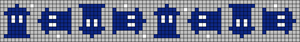 Alpha pattern #26501