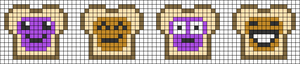 Alpha pattern #26504