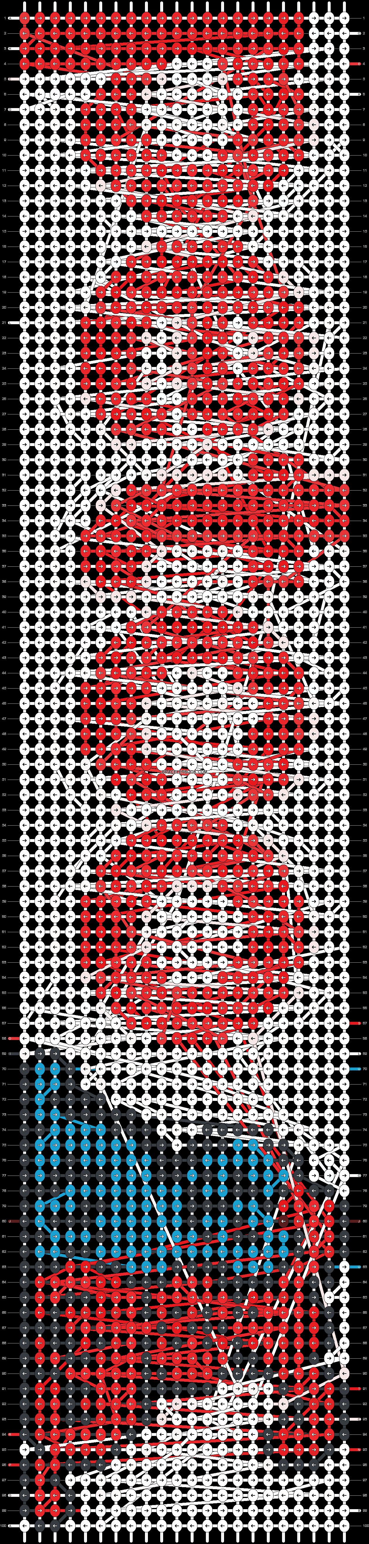 Alpha pattern #26510 pattern