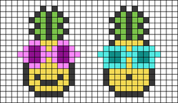 Alpha pattern #26517