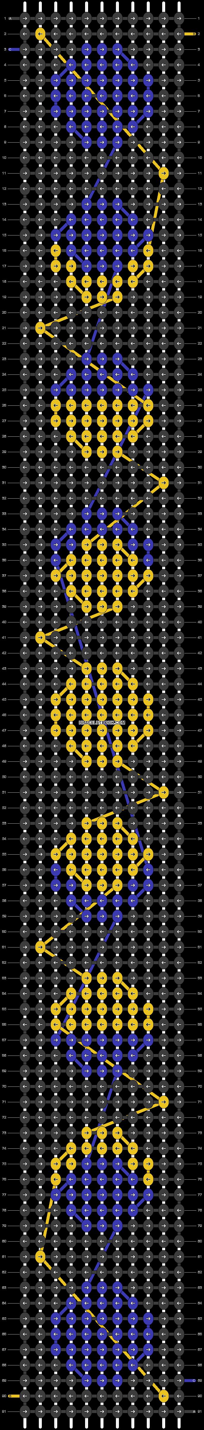 Alpha pattern #26521 pattern