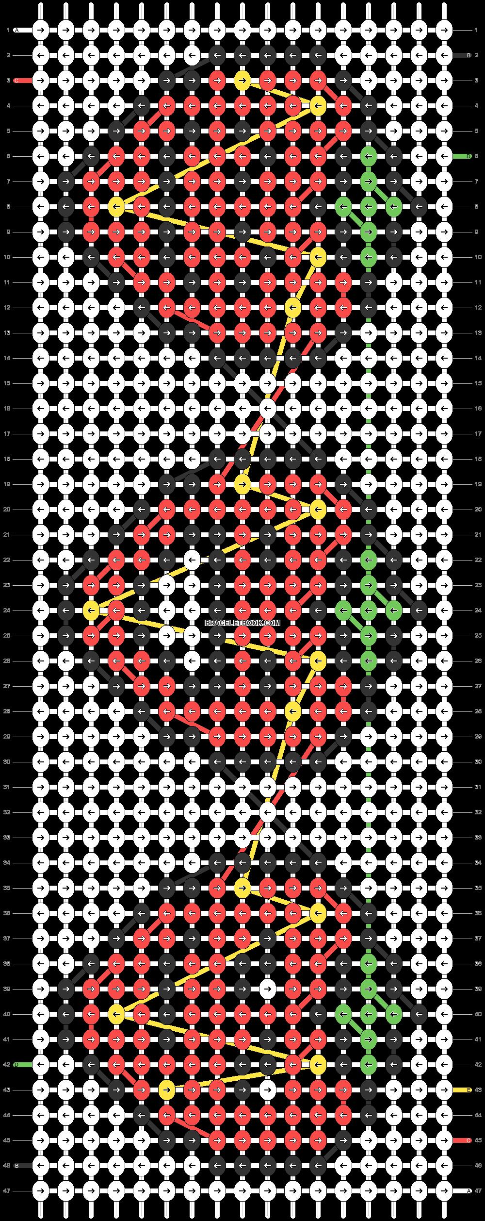 Alpha pattern #26533 pattern