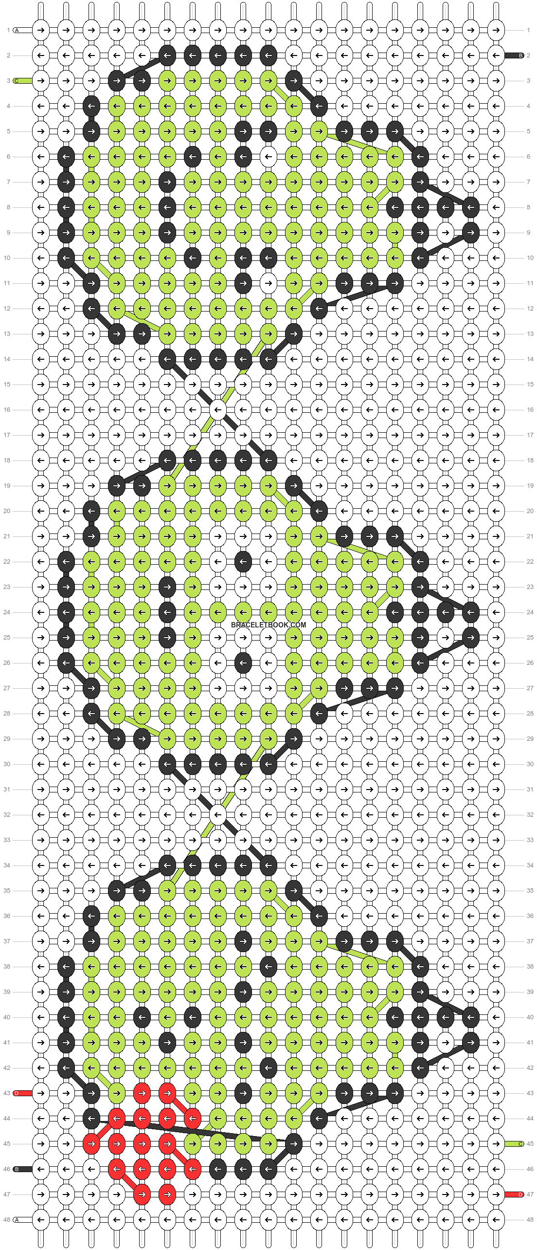 Alpha pattern #26534 pattern