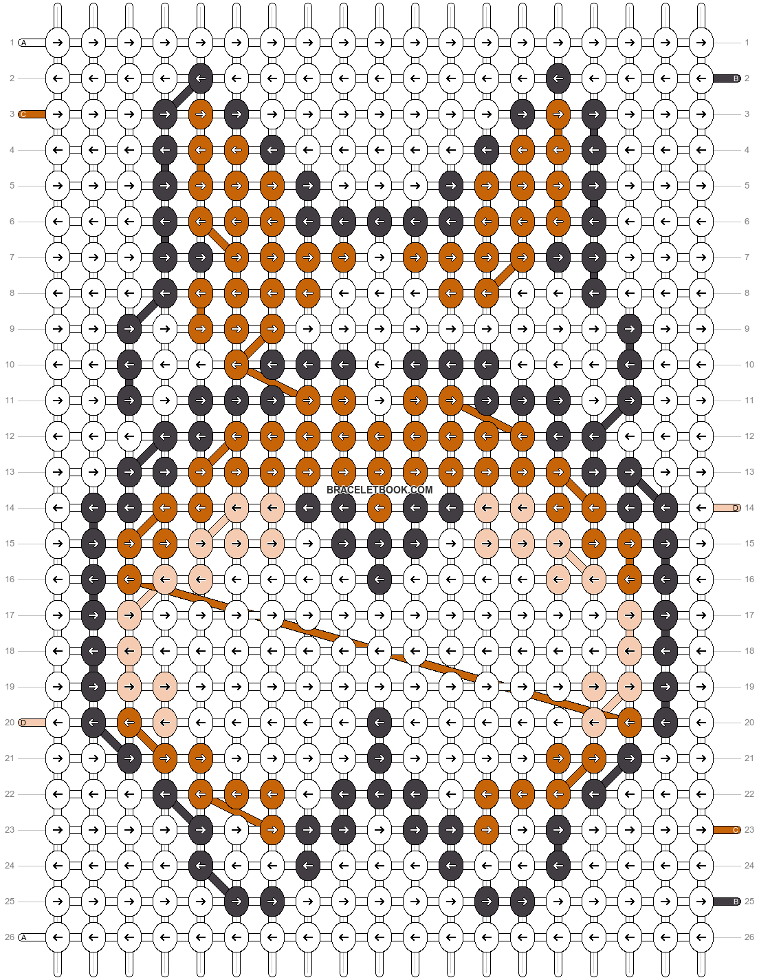 Alpha pattern #26548 pattern