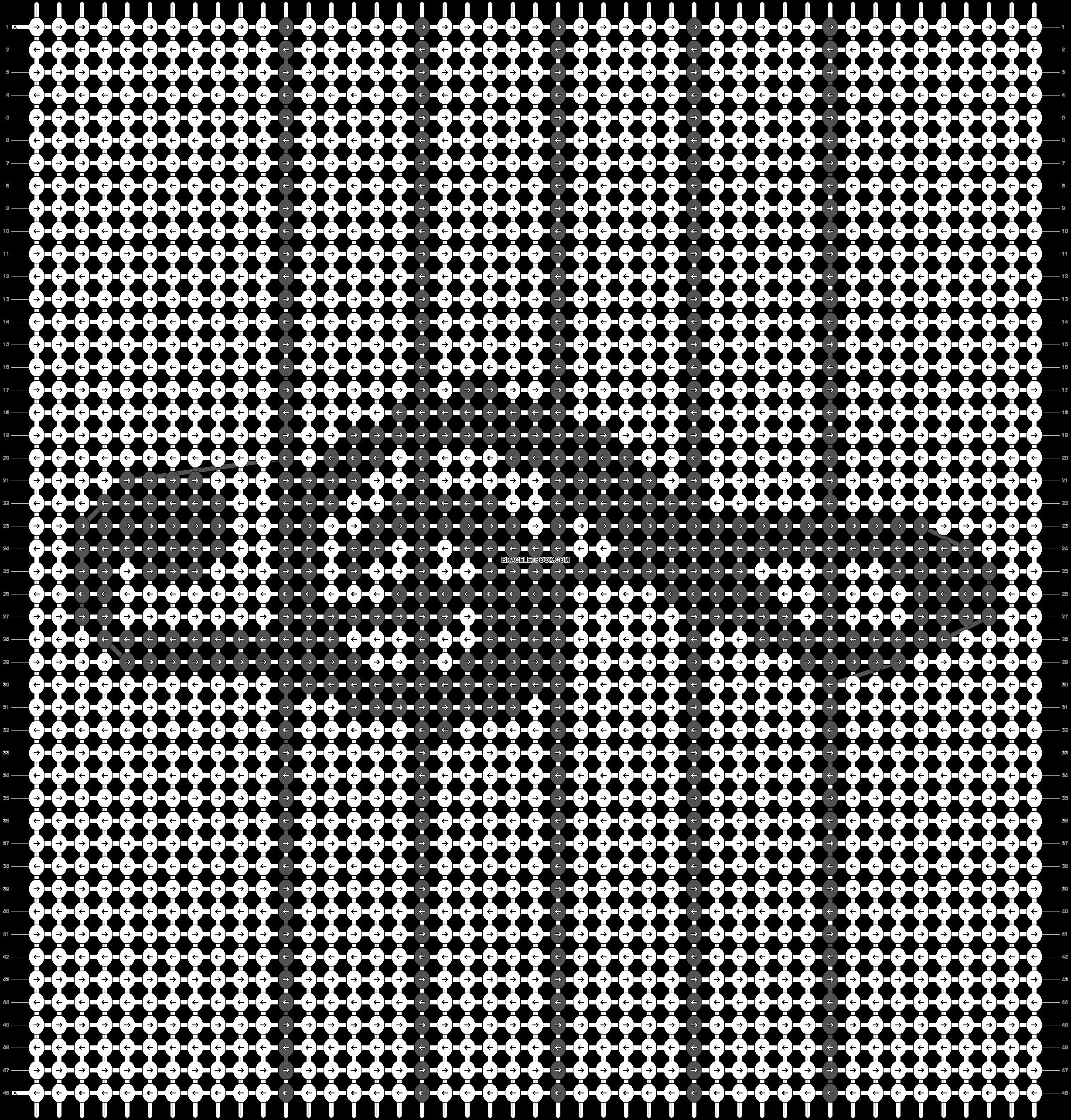 Alpha pattern #26553 pattern