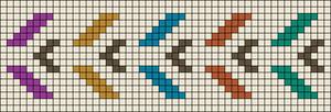 Alpha pattern #26557