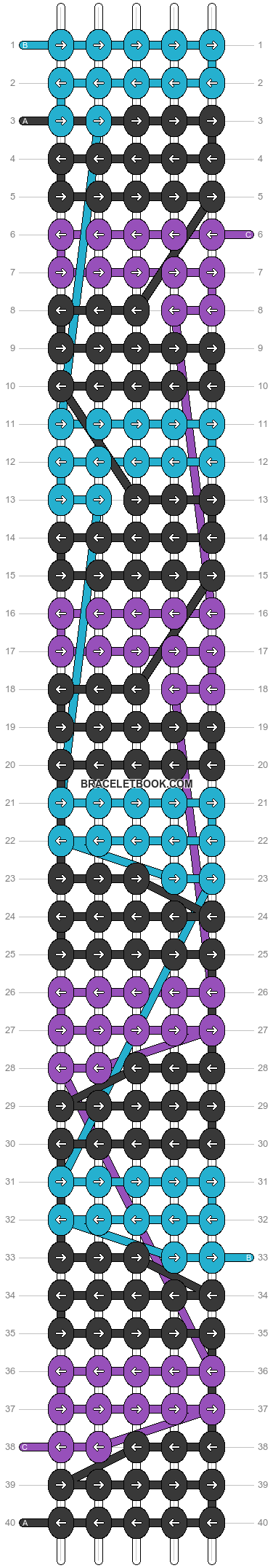 Alpha pattern #26560 pattern