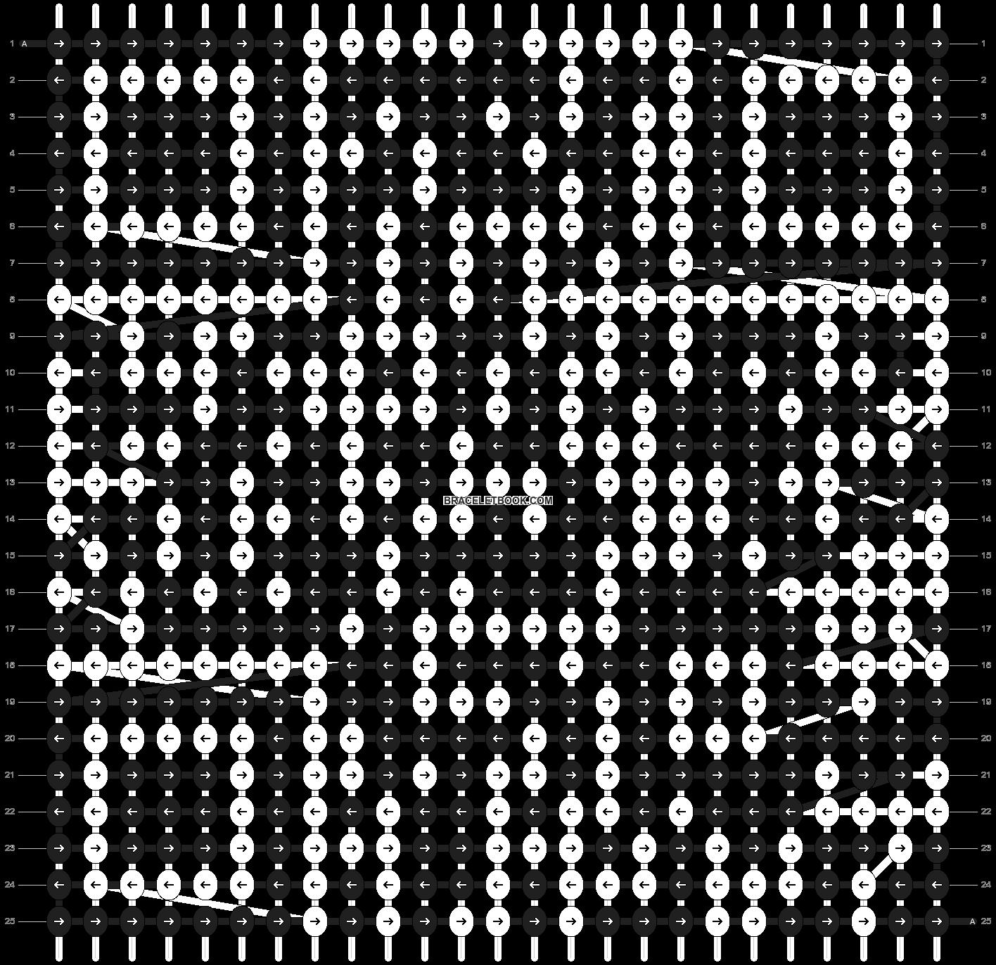 Alpha pattern #26567 pattern