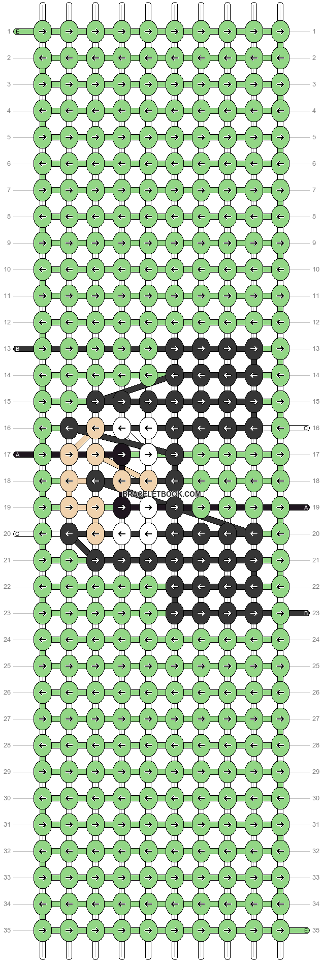 Alpha pattern #26570 pattern