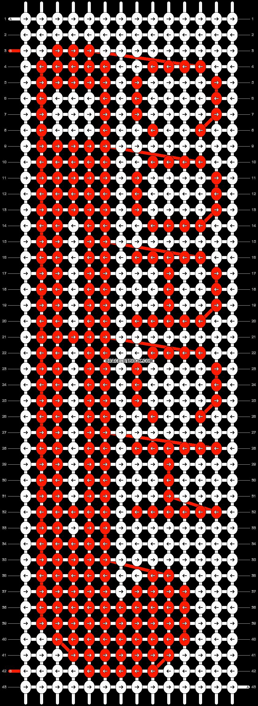 Alpha pattern #26571 pattern