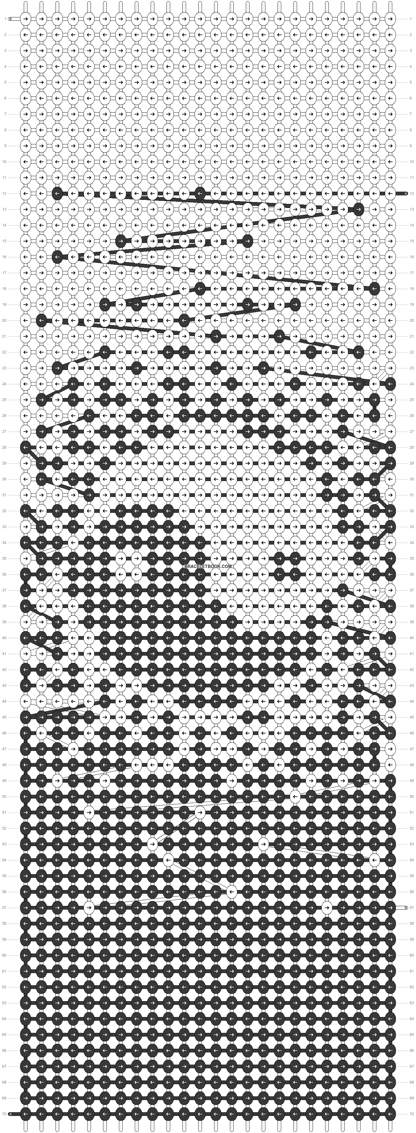 Alpha pattern #26575 pattern