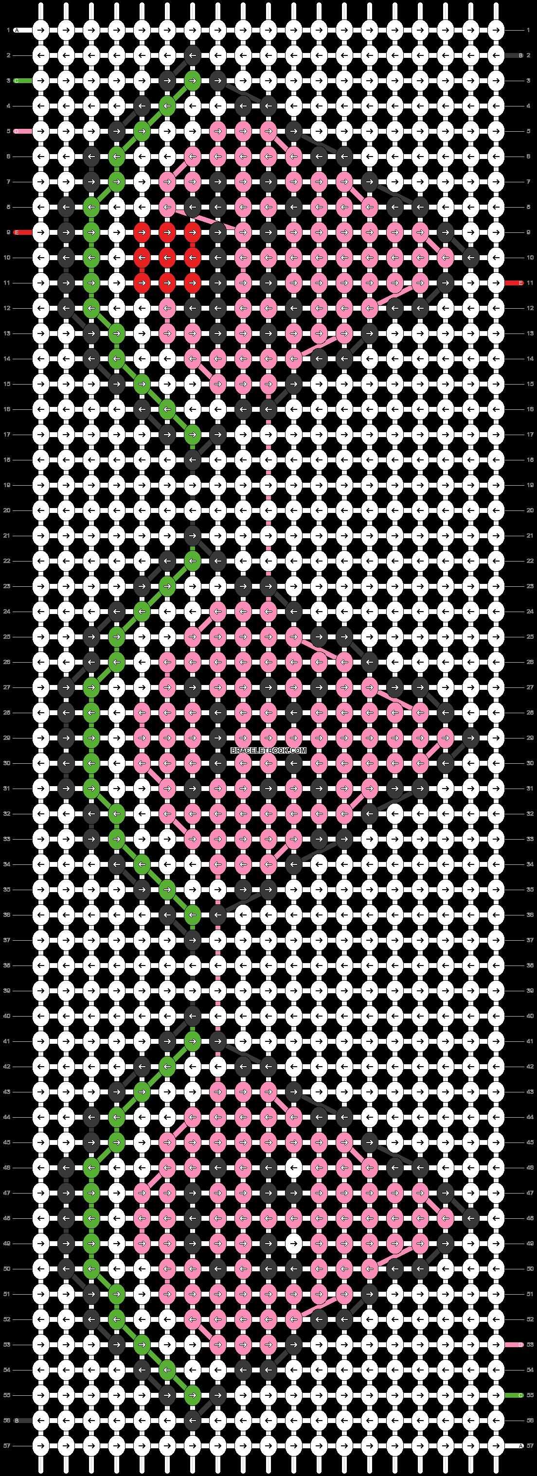 Alpha pattern #26580 pattern