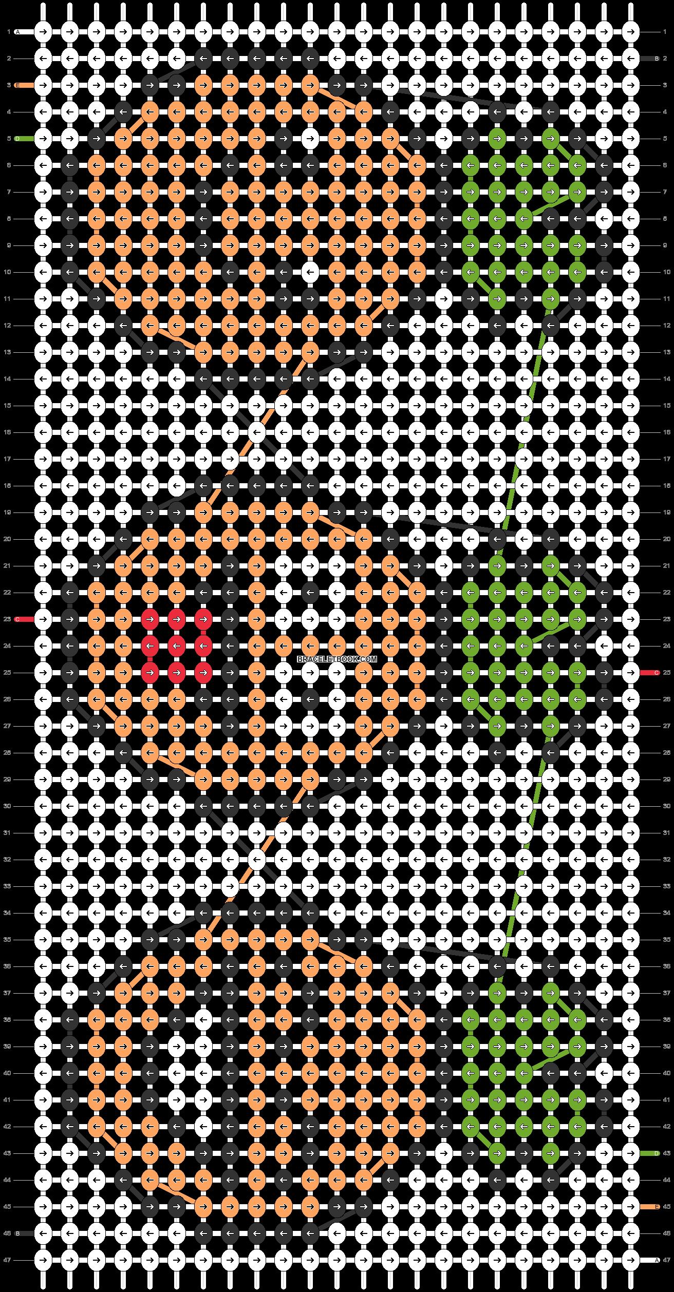 Alpha pattern #26581 pattern