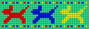 Alpha pattern #26592