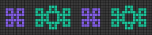 Alpha pattern #26594
