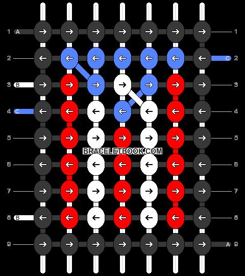 Alpha pattern #26601 pattern