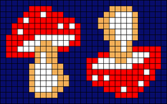 Alpha pattern #26610