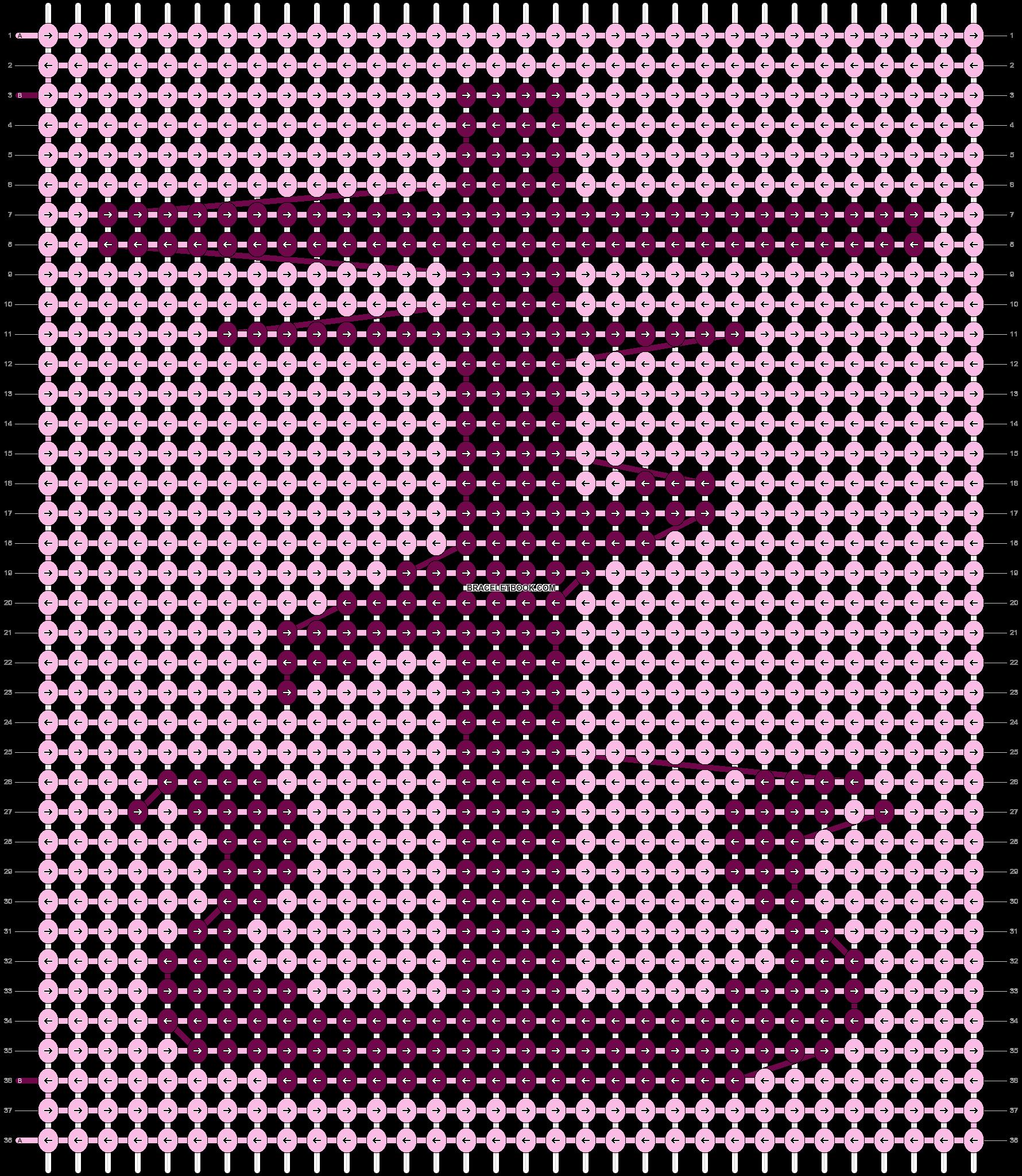 Alpha pattern #26611 pattern