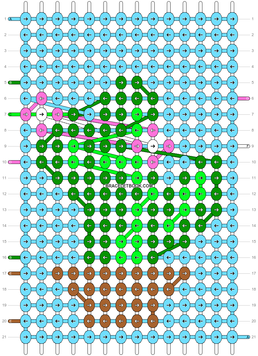 Alpha pattern #26621 pattern