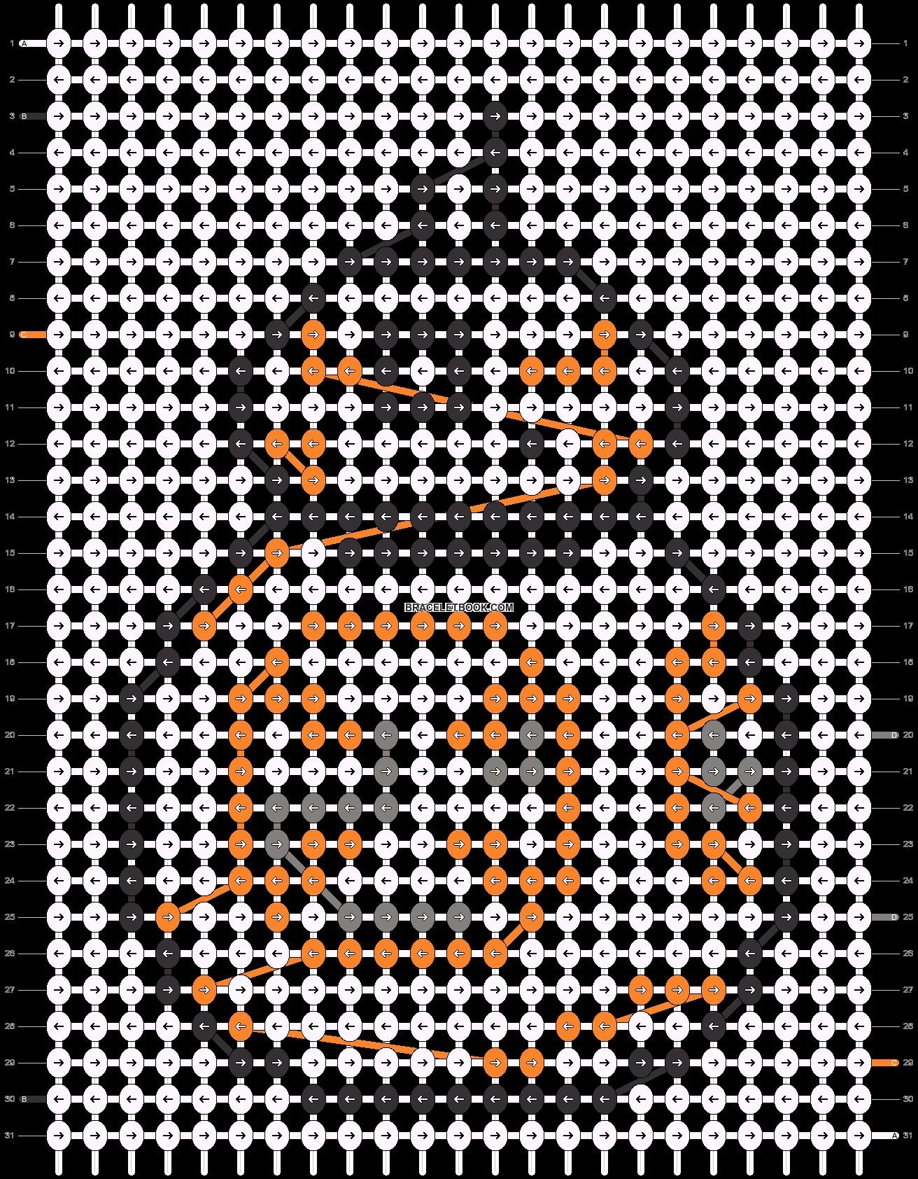 Alpha pattern #26628 pattern