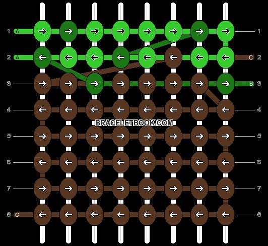 Alpha pattern #26637 pattern