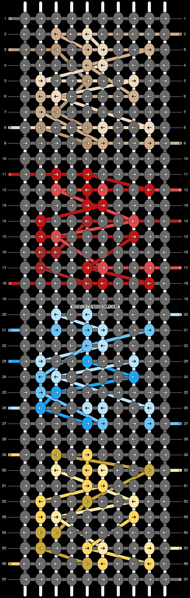 Alpha pattern #26642 pattern