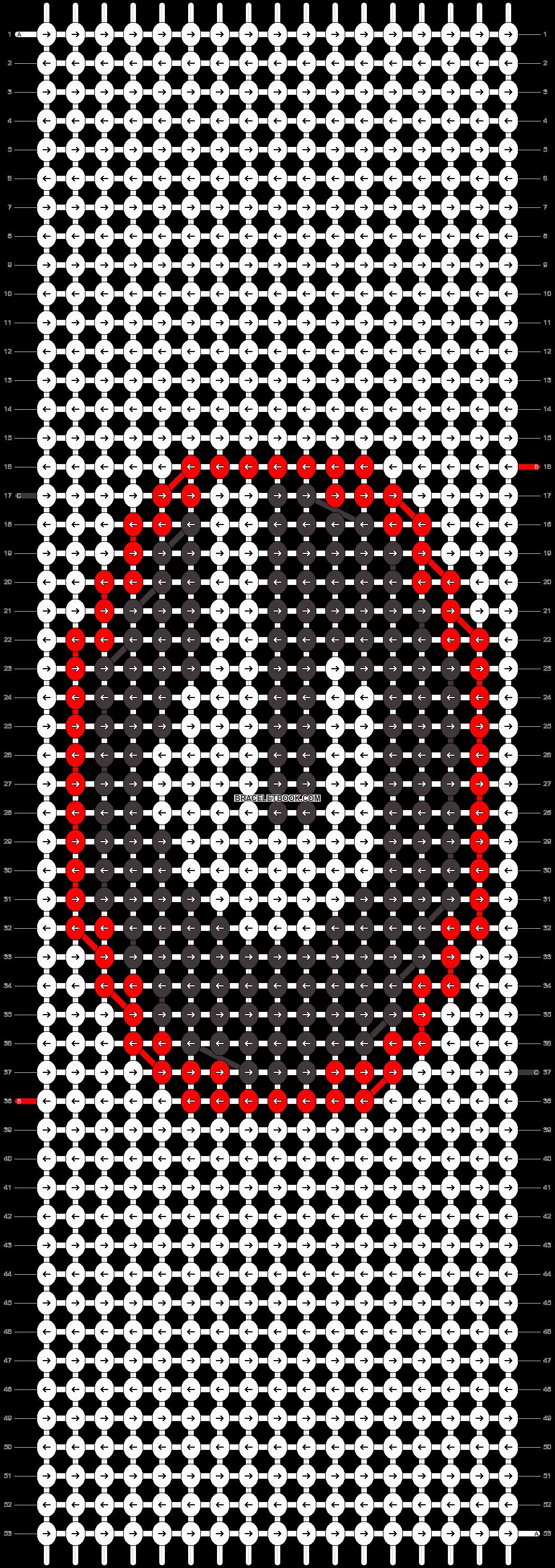 Alpha pattern #26646 pattern