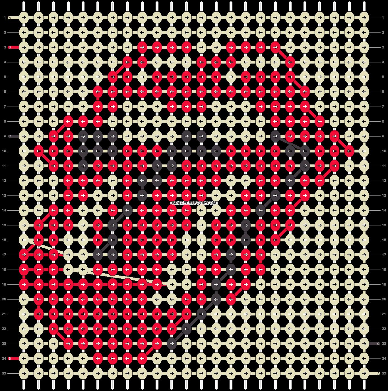 Alpha pattern #26650 pattern
