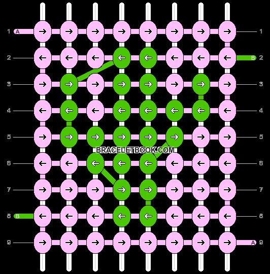 Alpha pattern #26653 pattern