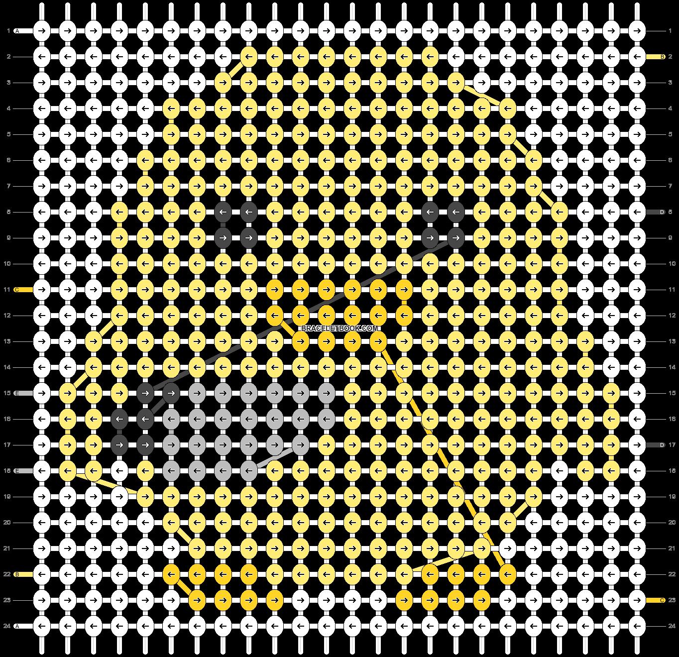 Alpha pattern #26663 pattern